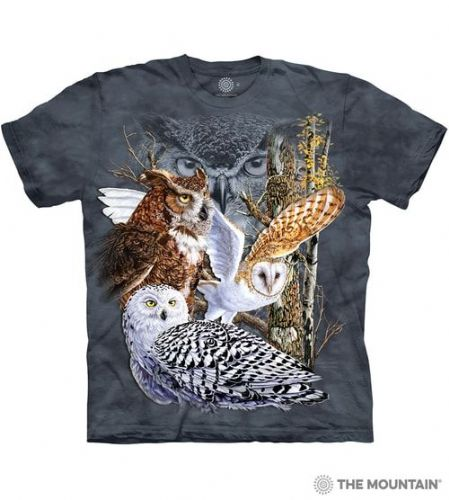 Find 11 Owls T-shirt | The Mountain®